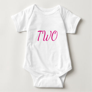 TWO BABY BODYSUIT
