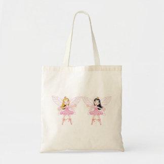 Two Ballerina Fairies Tote Bag