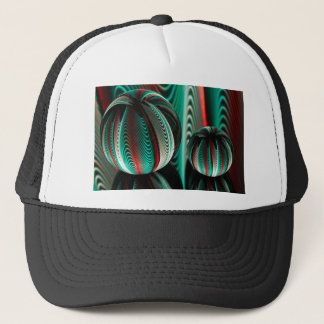 Two Balls reflections in glass balls Trucker Hat