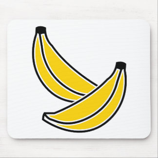 two-bananas mouse pad