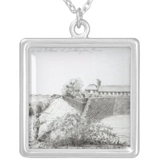 Two Batteries at Southampton House Silver Plated Necklace