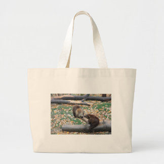 Two bears canvas bags