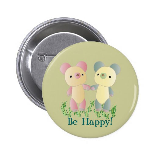 Two Bears Button