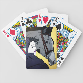 TWO BEAUTYS BICYCLE PLAYING CARDS