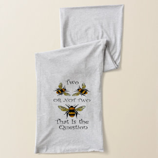 Two Bee or Not Bee Scarf