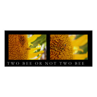 Two Bee or Not Two Bee Poster