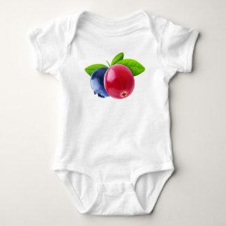 Two berries baby bodysuit
