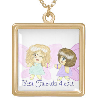 Two Best Friends 4-Ever Fairies necklace