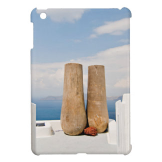 Two big pots on Santorini island iPad Mini Covers