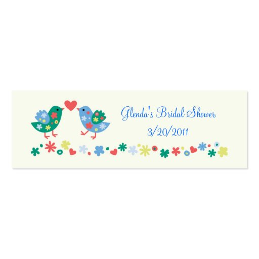 Two Birds Gift or Favor Card Business Cards