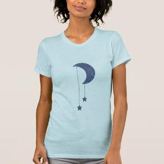 Two Blue Hanging Stars Shirt
