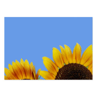 Two Bold Sunflowers Business Card Templates