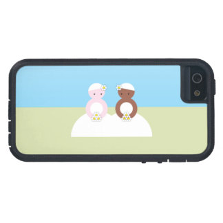 Two brides one caucasian one colored iPhone 5 case