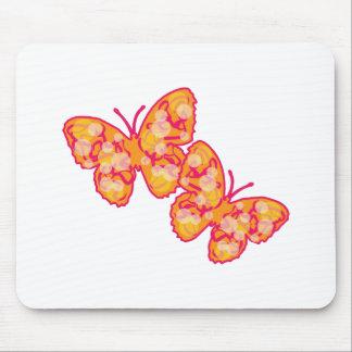Two Butterflies Mousepads