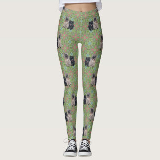 Two Cairn Terriers Leggings