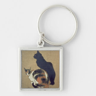 Two Cats, 1894 Key Ring