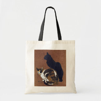 Two Cats, Alexandre Steinlen Tote Bag