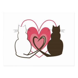 Two Cats Postcards