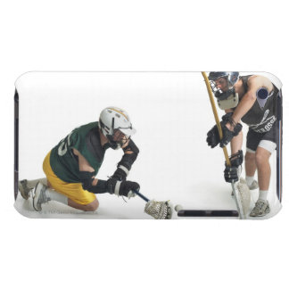 two caucasian male lacrosse players from 2 barely there iPod case