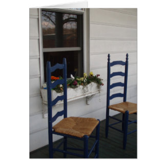 Two Chairs Card