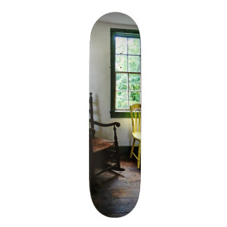 Two Chairs in Kitchen Skate Deck