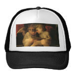 Two Cherubs Reading by Rosso Fiorentino Cap