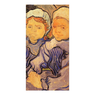 Two Children by Vincent van Gogh Picture Card