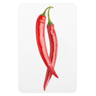 Two chillies magnet