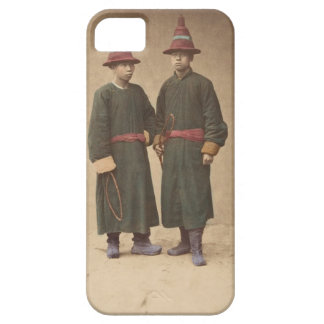 Two Chinese Men in Matching Traditional Dress Case For The iPhone 5