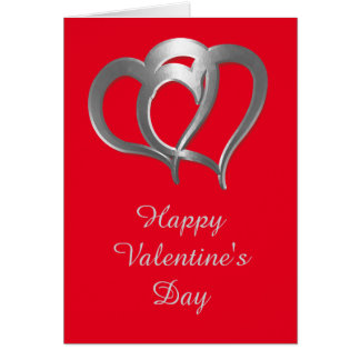 Two Chrome Hearts Greeting Card