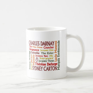 Two Cities Characters Coffee Mug