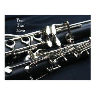 Two Clarinets Postcard