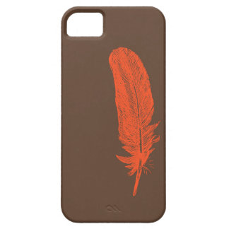 Two color feather phone case iPhone 5 cover