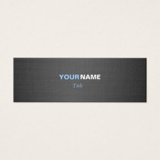 Two Colors Mini Business Card