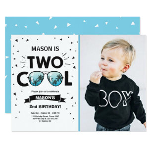 2nd Birthday Invitations Zazzle Au