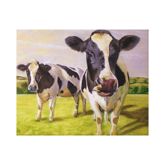 Two Cows Canvas Prints