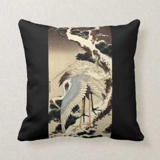 Two Cranes Cushion
