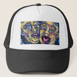two crazy guys trucker hat