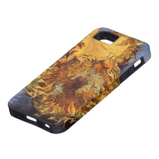 Two Cut Sunflowers by Vincent van Gogh iPhone 5 Cases
