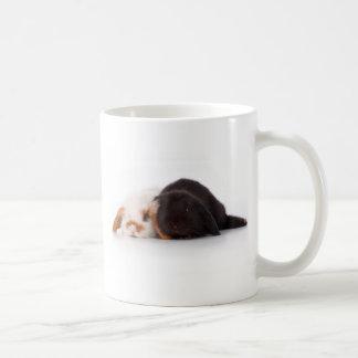 Two cute baby bunnies coffee mugs