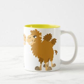 Two Cute Cartoon Camels Mug