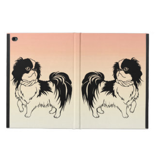 Two Cute Dogs on Orange iPad Air 2 Case