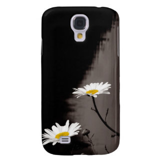 Two Daisies - Selective Color, Black and White Samsung Galaxy S4 Cover