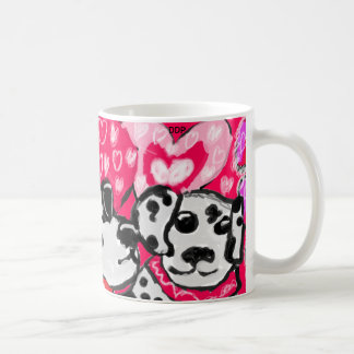 Two dalmatians coffee mug