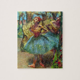 Two Dancers by Edgar Degas, Vintage Ballet Art Jigsaw Puzzle