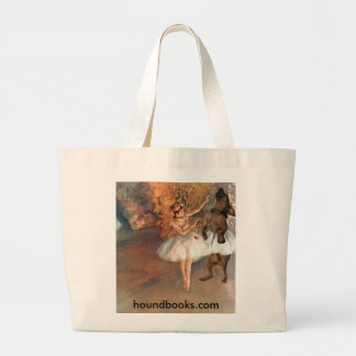 Two Dancers on a Stage Jumbo Tote Bag