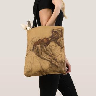 Two Dancers Tote Bag