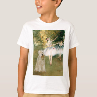 Two Dancers - Wheaten Terrier 7 T-Shirt