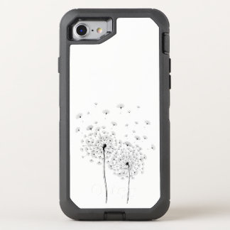 Two Dandelion OtterBox Defender iPhone 8/7 Case