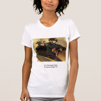 Two Discussing Voters By Menzel Adolph Von T Shirts